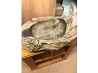 Solid oak fruit bowl (money going to charity)