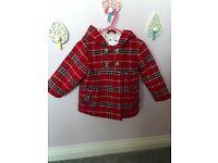 M&Co , girls coat , 6-9months
