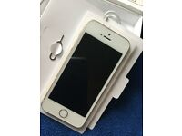 Good Condition iPhone 5s Gold 16GB And Unlocked