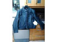 Leather Oxford Motorbike Jacket