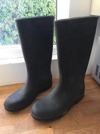 Men's Green Wellies Size 11 - Nearly New - Wellington Boots