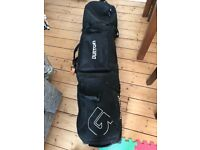 Burton wheelie snowboard bag + FREE snowboard