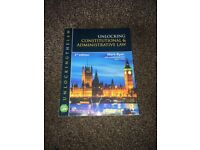 Undergraduate Law Books- Constitutional and Adminstrative Law