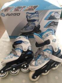 Kids Inline Skates - size 12.5 to 2.5 - adjustable