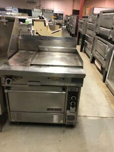 USED GARLAND FLAT GRILL