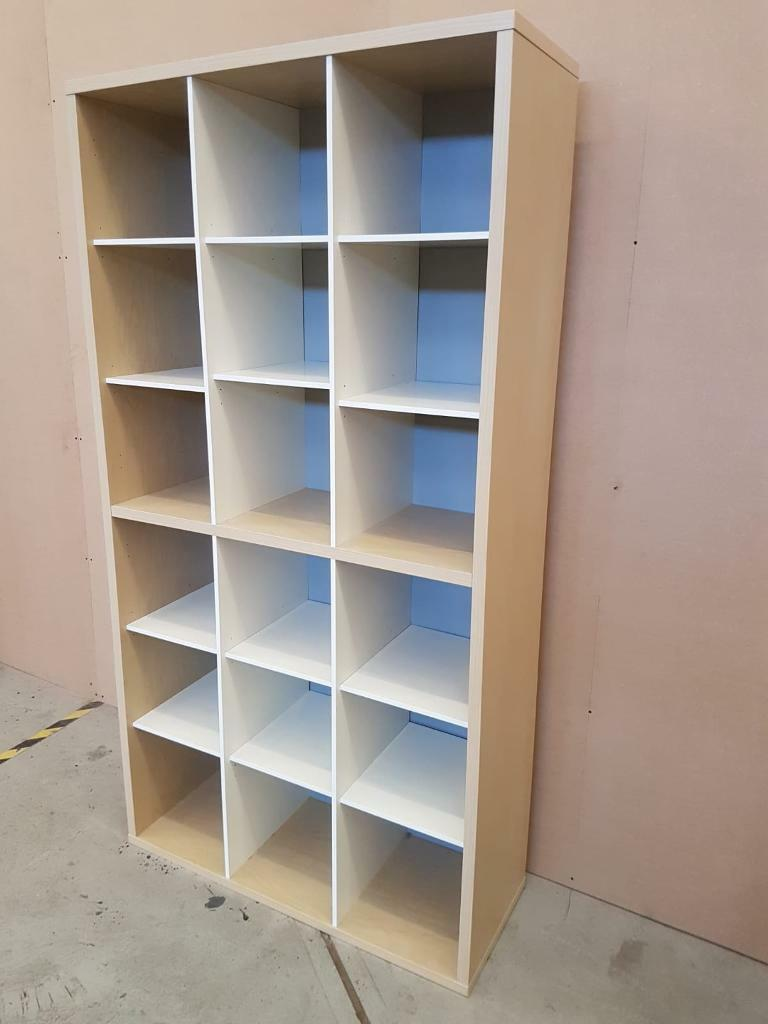 Light Beech Effect Tall Cube Unit 18 Cubes In Stroud Gloucestershire Gumtree