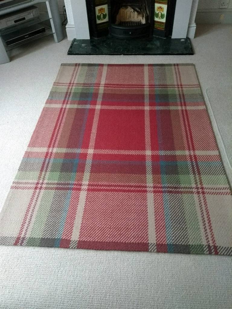 Red Check Rug From Next
