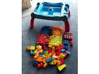 Mega Bloks Table Play Set