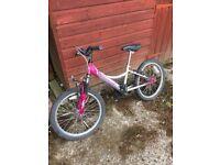 Girls bike rhapsody pink