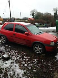 Vauxhall Corsa b Breaking (parts, Stockcar, spares, Opel, project)