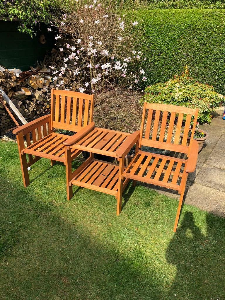 c3c41f2b5554 Garden Seat Love Seat with Table Brand New   in Linlithgow, West ...