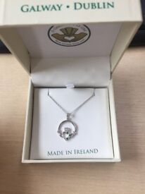 Galway Celtic Necklace (New with Box)