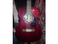 ACOUSTIC Guitar GUILD m120 CH small body with full size Neck.