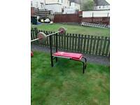 Weights bench and weights 3 to choose from with 300kg of weights go from 0.5kg to 15kg )offers