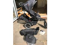 Phil and Teds Navigator V1 Double Buggy with Extras - As New