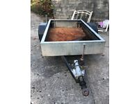 CAR TRAILER - USED - SINGLE AXLE