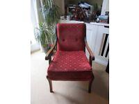 Retro Wooden Armchair (Art Deco?)