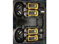 x4 Motorla TLKR T80 Extreme Walkie Talkies (like new)