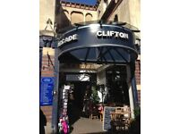 SHOP UNIT TO LET CLIFTON ARCADE
