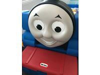 Little Tikes Thomas the Tank Engine bed and mattress