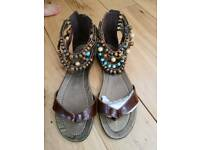 Size 6 sandals brand new