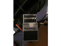 BOSS GE7 EQ Pedal - Mint Condition