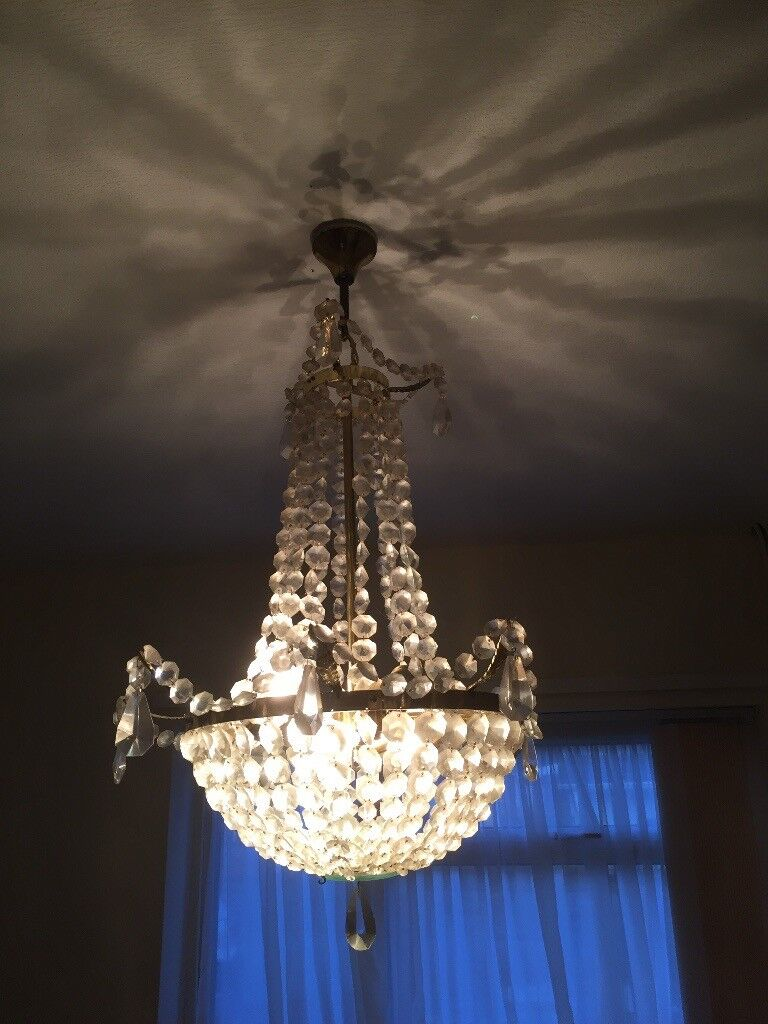 Used chandelier ceiling light
