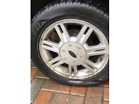 ALLOY WHEELS OFF FORD FIESTA FOR SALE