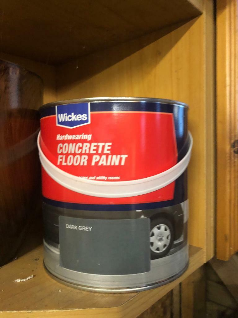 Wickes Concrete Floor Paint In Bury St Edmunds Suffolk Gumtree