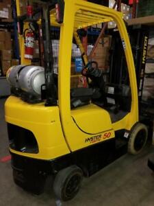 Hyster S50FT 5000Lbs LPG Forklift - Only $10,998!