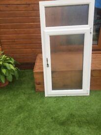 Treble glazed window