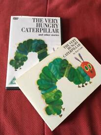 Hungry caterpillar dvd & book