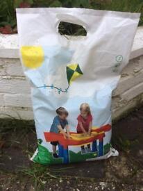 Bag of play sand
