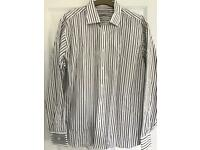Men's long sleeved striped shirt