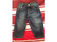 Levis Red Tab 12 month medium blue Designer jeans
