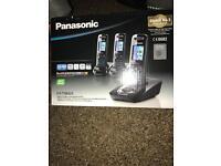 Panasonic kx-tg8423 cordless phones brand new
