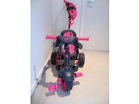 Girls smart pink trike for sale £40