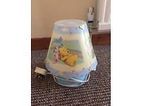 Winnie the Pooh nursery lamp