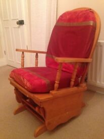 Rocking Chair / Nursing Chair. Solid Pine