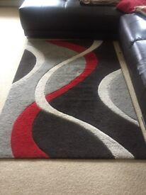 Loose large carpet