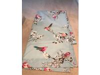 Dunelm beautiful birds curtains, bedding and light shade!