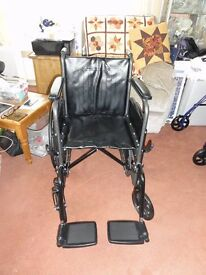 Brand new and unused, folding, Caremax, Self propelling Wheelchair. Collect from Hailsham BN27