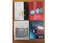 Lot of 4 thick accounting and finance textbooks