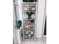 Excellent glass display cabinet
