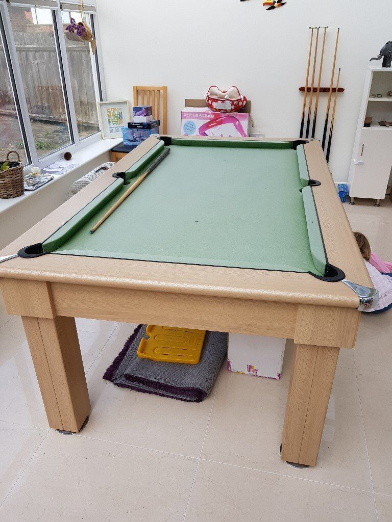 6ft Pool Table With Covers To Convert Dining In Ipswich Suffolk Gumtree