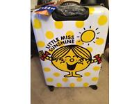 Brand new little miss sunshine luggage case RRP £54.99 suitcase