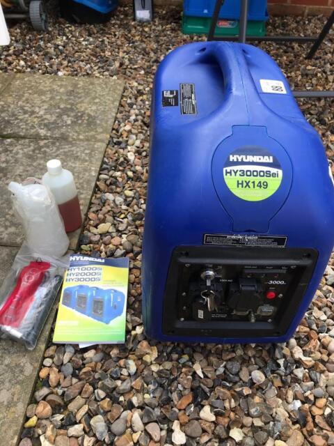 Hyundai HY3000Sei HX149 Generator | in Diss, Norfolk | Gumtree