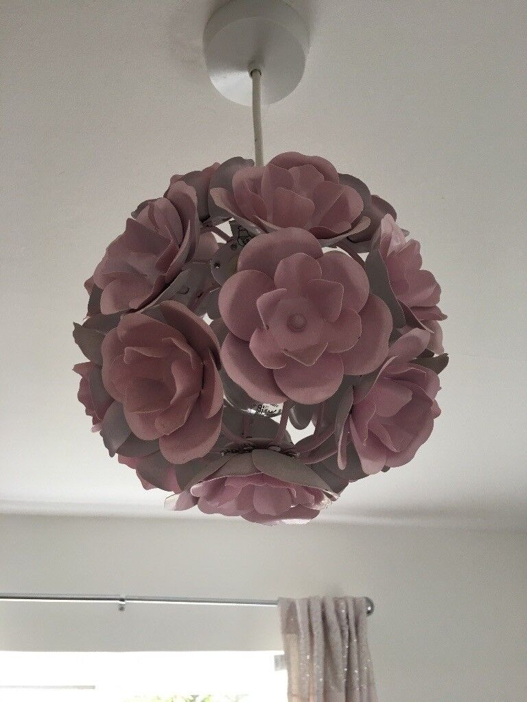 Decorative Pink Flower Lamp Shade In Witney Oxfordshire Gumtree
