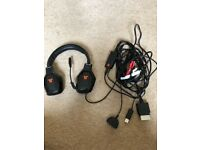 Xbox Tritan trigger headset black/orange