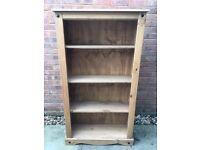 Wooden Corona Pine Book shelves